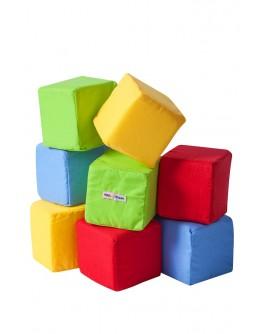 Набір кубиків КОЛЬОРОВІ - (А038)