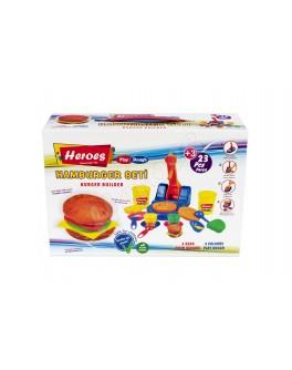Набір тіста з інструментами Фабрика гамбургерів - (ERN-538)