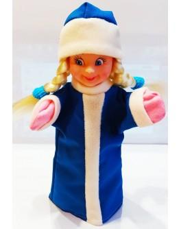 Лялька-рукавиця СНІГУРОНЬКА (ПВХ, тканина)
