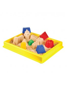 Велика пластикова пісочниця  6 кольорів (без піску ) (400Х300) - (KUM-016)