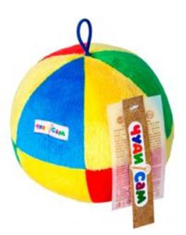 М'яч ЧАСТОЧКИ (15см., брязкальце) - (А039)