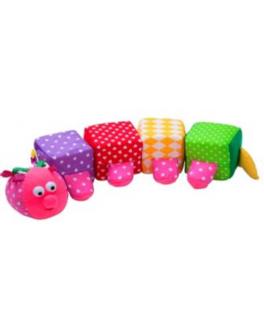 Дидактична іграшка ГУСЕНИЦЯ - (А043)