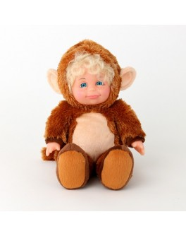 М`яконабивна лялька КОСТЮМ МАВПОЧКА (35см)