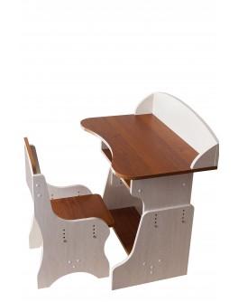Парта ПІД ДЕРЕВО (парта, стілець, регульована, 700*460*120)