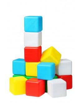 Кубики дитячі кольорові №15