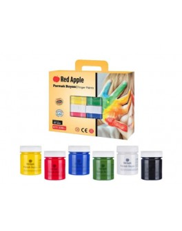 Фарба Гуаш подарунковий набір 6 кольорів по 100мл в баночках - (RG100K)